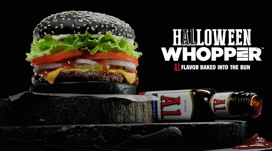 Burger King Halloween campaign